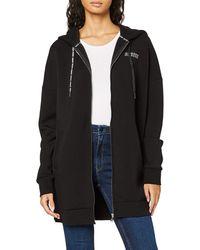 Guess Kristen Jacket Sweatshirt à Capuche - Noir