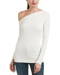 BCBGMAXAZRIA - Aya One-shoulder Sweater - Lyst