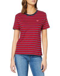 Tommy Hilfiger - Tjw Tommy Classics Stripe Tee Sports Knitwear - Lyst