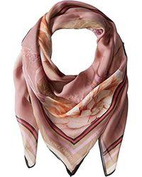 Vince Camuto - Dreamscape Floral Silk Chiffon Oversized Square Scarf - Lyst
