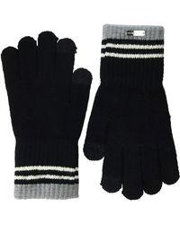 Steve Madden 3 Stripe Magic Glove - Black