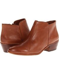 Sam Edelman - Petty Leather Ankle Boots - Lyst
