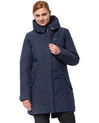 Jack Wolfskin Monterey Bay Coat - Blue