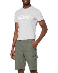 Superdry Core Cargo Shorts Pantalones Cortos - Verde