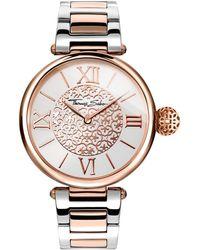 Thomas Sabo 's Watch Karma Rose Gold Silver Analogue Quartz - Metallic
