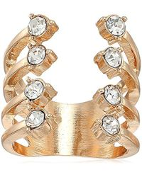 Guess - Update Stones Ring, Size 7 - Lyst