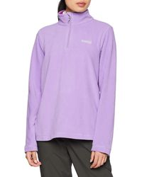Regatta Ladies Sweethart Overhead Fleece Paisley Purple 22