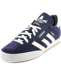 adidas Samba Super Suede Sneaker - Blau