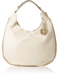 Guess - Eve, Shoppers y bolsos de hombro Mujer, Marfil - Lyst