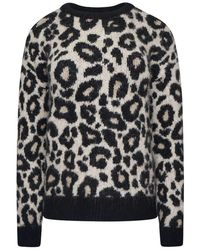 Superdry Lisa Leopard Jumper - Brown