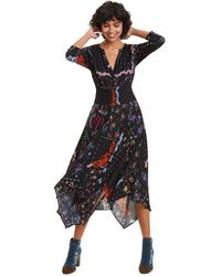 Desigual Dress Jana Vestido - Negro