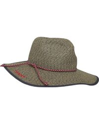 Tommy Hilfiger Th Straw Foldable Hat Casquette De Baseball - Multicolore