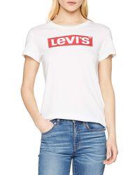 Levi's The Perfect Tee - Blanco