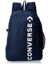 Converse Speed 2.0 Backpack 10008286-A09 Borsa Messenger 42 centimeters 18 Blu
