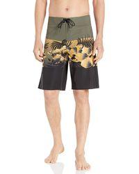 Oakley - Jbay Flower Block Seamless 21 Inches Swim Trunks - Lyst