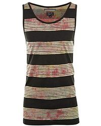 RVCA Horai Stripe Tank Top - Black