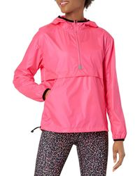 Amazon Essentials Pullover Coupe-Vent Pliable Sweat-Shirt - Rose