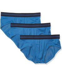 Goodthreads 3-pack Lightweight Performance Knit Brief - Blue