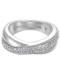 Esprit Ring Silber Zirkonia Purity Glam ESRG91722A1 - Mehrfarbig