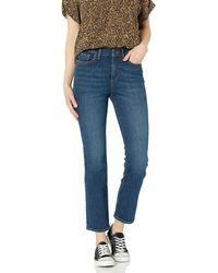 Goodthreads High Rise Slim Straight Jeans - Azul
