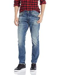 G-Star RAW 3301 Straight Tapered Jeans Uomo - Blu