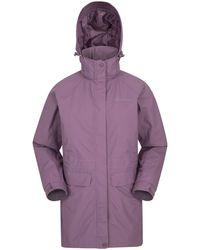 Mountain Warehouse Taped Seams Rain - Purple