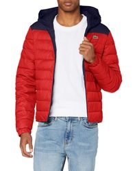 Lacoste Sport Bh1531 Dress Coat - Red