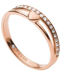Fossil Jf03460791 Ring Hearts To You - Multicolour