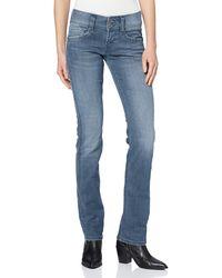 Pepe Jeans Gen Straight Jeans - Blau