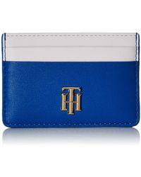 Tommy Hilfiger TH Lock CC Holder Corporate - Bleu