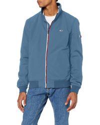 Tommy Hilfiger TJM Essential Bomber Jacket Jacke - Blau
