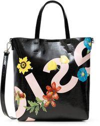 Desigual - PU Shopping Bag - Lyst