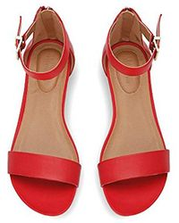 Kenneth Cole Reaction - Great Viber 2 Piece Wedge Sandal - Lyst