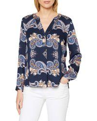 Esprit Collection - 020eo1f301 Maglietta a iche Lunghe Senza Collo - Lyst