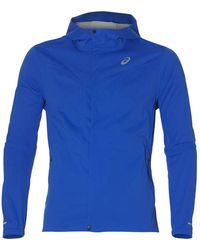 Asics Accelerate Running Jacket - S Blue