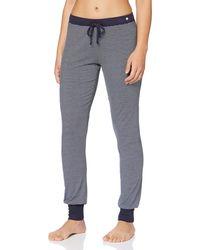 Esprit Jayla Long Pant Pyjama Bottoms - Blue