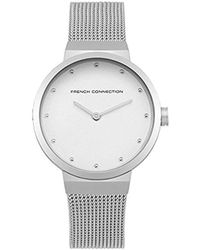 French Connection Analog-quartz Watch With Stainless-steel Strap Fc1291sm