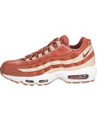 Nike Air Max 95 Velvet Trainers In Dusty Peach | kengät