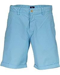 GANT Regular Summer Shorts - Blue