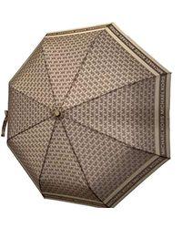 Michael Kors Mk Logo Signature Umbrella - Multicolour