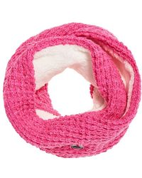 Superdry Clarrie Stitch Snood Pashmina - Rose