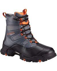 Columbia Canuk Titanium Omni-heat Outdry Boots, Graphite \ Heatwave,7 M Us - Multicolour