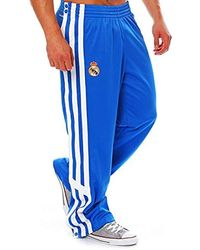 Real Jogging Climalite S Basketball Trousers D80314 Button Bottoms Blue Madrid XZuPki