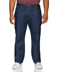 Levi's 501 Button Fly B&t Straight Straight Jeans - Blu