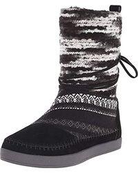 TOMS Nepal Snow Boot - Black