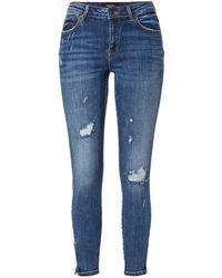 Vero Moda - Vmtilde Mr S Ankle Zip Dstr J Li355 Noos Jeans - Lyst