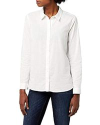 Vero Moda - Vmkate Isabell L s Long Shirt Noos Blouse - Lyst 14dde13c25ec
