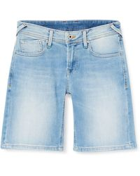 Pepe Jeans Poppy Short Pride Costume da Bagno - Blu