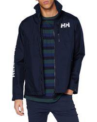 Helly Hansen Active Hooded Waterproof Breathable Midlayer Jacket Cappotto - Verde