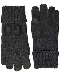 HUGO Wenno Gloves - Gray